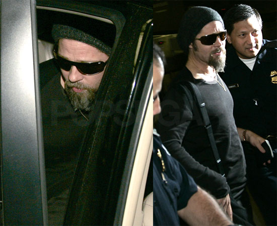 Photos of Brad Pitt in LA
