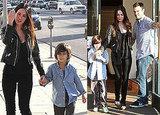 Photos of Megan Fox and Brian Austin Greene in LA