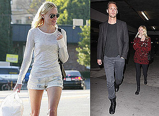 Photos of Kate Bosworth and Alexander Skarsgard at the Movies in LA