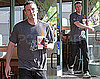 Photos of Ben Affleck Leaving Jamba Juice in LA