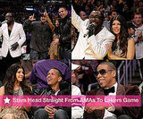 Photos of Jay-Z, Fergie at Lakers Game After AMAs