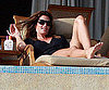 Slide Photo of Cindy Crawford Vacationing in Mexico with George Clooney