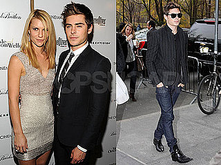 Photos of Zac Efron and Claire Danes in NYC Promoting Me and Orson Welles