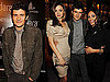 Photos of Orlando Bloom, Rosario Dawson, And Miranda Kerr Celebrating a Hotel in Vegas 2009-12-02 16:30:00