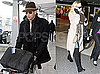Photos of Kate Hudson and Alex Rodriguez Traveling From LAX to London For Her to Promote Nine