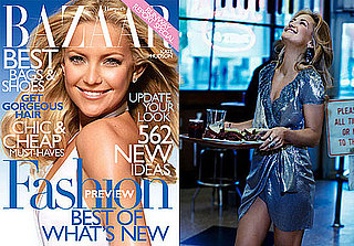 Photos of Kate Hudson in Harper's Bazaar With Ryder Robinson 2009-12-02 10:00:00