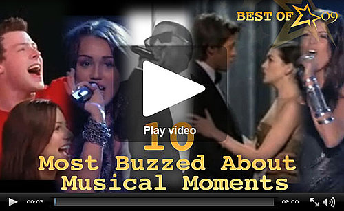 Best of 2009: The 10 Most Buzzed About Musical Performances!