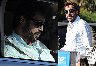 Photos of Javier Bardem Running Errands Solo in LA 2009-12-04 13:30:00