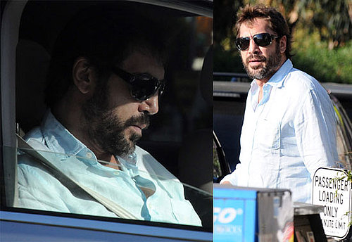 Photos of Javier Bardem Running Errands Solo in LA