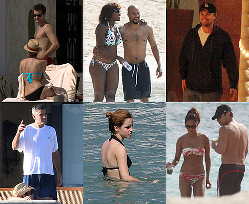 Photos of Celebrities on Vacation Over the Thanksgiving Holiday Weekend