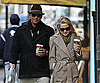 Slide Photo of Alex Rodriguez and Kate Hudson Walking in NYC With Coffee