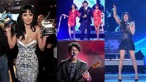 Photos of Fergie, Katy Perry, Nick Jonas At 2010 Grammy Award Nomination Show