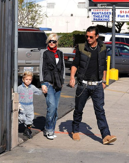 Photos of Gwen and Gavin in LA and London