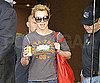 Slide Photo of Britney Heading to Airport in Australia
