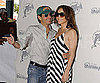Slide Photo of Jennifer Lopez and Marc Anthony At Dolphins Game in Miami