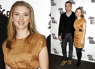 Photos of Liev Schreiber And Scarlett Johansson Previewing A View From The Bridge