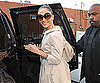 Slide Photo of Jennifer Lopez Holiday Shopping in LA