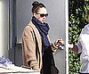 Slide Photo of Jessica Alba Leaving Spa in LA