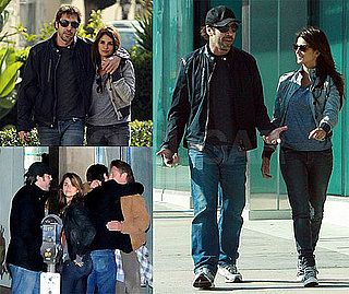 Photos of Penelope Cruz, Diane Lane, Sean Penn, Javier Bardem, and Josh Brolin Together in LA