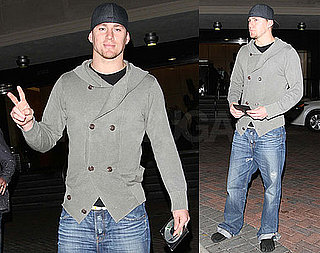 Photos of Channing Tatum Wearing Toed Shoes in LA and Trailer of Dear John