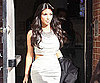 Slide Photo of Kim Kardashian Wearing Tight Dress in NYC