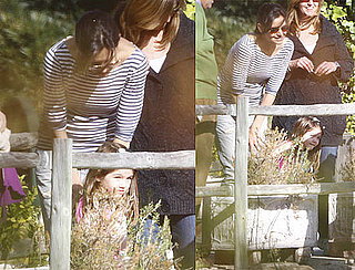 Photos of Katie Holmes And Suri Cruise at a Seville Zoo