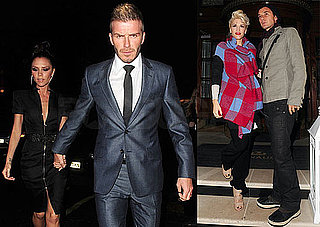 Photos of the Beckhams and the Rossdales At Harpers Dinner in London