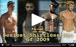 Best of 2009: Video Celebration of the Year's 12 Hottest Shirtless Guys!
