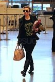 Photos of Rachel McAdams at Heathrow
