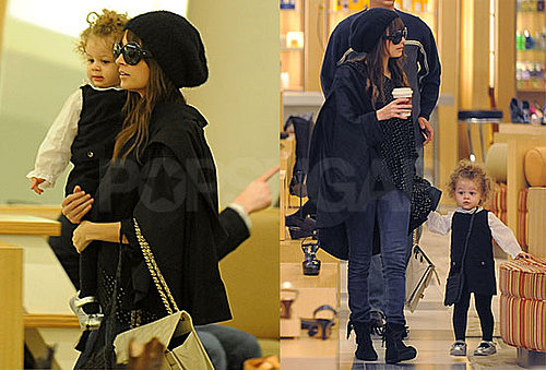 Photos of Nicole Richie and Harlow Madden Shopping at Barneys in LA