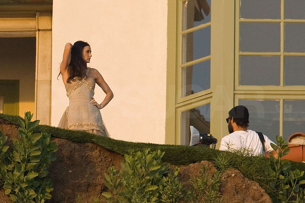 Photos of Demi Moore at a Bazzar Photoshoot