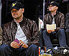 Photos of Leonardo DiCaprio at a Lakers Game in LA 2009-12-14 08:44:48