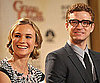 Slide Photo of Justin Timberlake and Diane Kruger Announcing 2010 Golden Globe Nominations