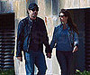 Slide Photo of Javier Bardem and Penelope Cruz in LA Holding Hands