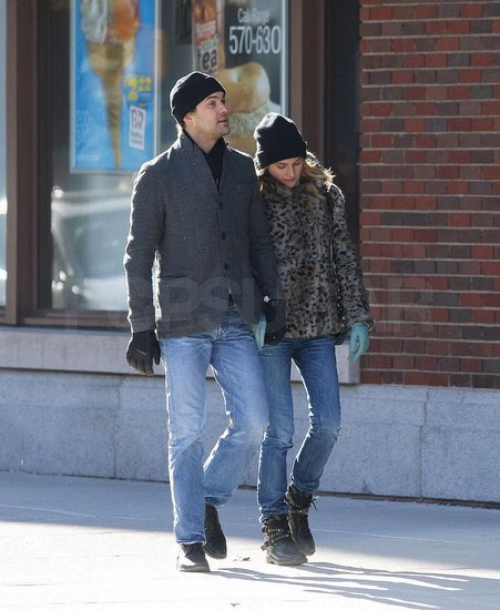 Photos of Joshua Jackson and Diane Kruger Walking Around NYC