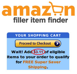 Fill Your Amazon Cart to Capacity to Get Super Saver Shipping