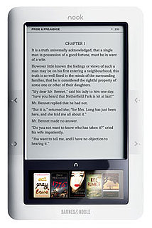 Barnes and Noble's Nook eReader Is Already Sold Out