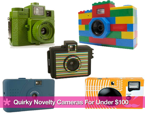 Colorful, Cheap, Fun Novelty Cameras