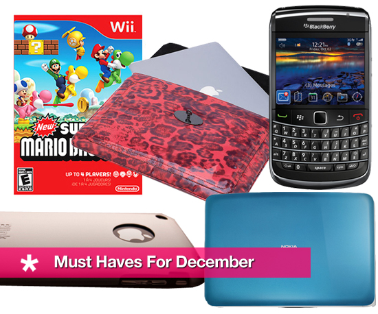 Must Haves For December
