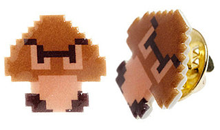 Nintendo Goomba Pin: Totally Geeky or Geek Chic?