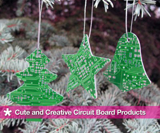Original, Geeky, and Eco-Friendly Circuit Board Goodies