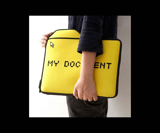 My Document Laptop Sleeve ($30)