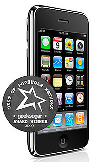 iPhone 3GS Wins as Your Favorite Cell Phone of 2009