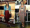 Chlo Sevigny and Zoe Saldana Wear Bra-Revealing Prada Outfits 2009-11-16 13:00:22