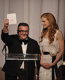Presenters Alber Elbaz and Nicole Kidman