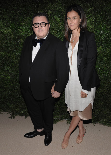 Alber Elbaz and Barneys's Julie Gilhart