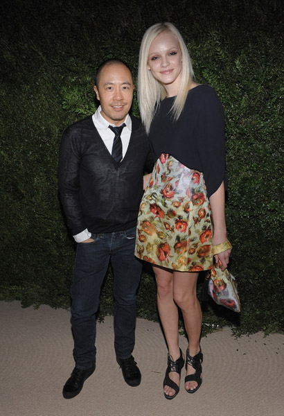 Derek Lam and Ginta Lapina