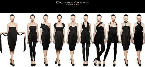 Donna Karan The Infinity Dress Can Be Worn 10 Ways 2009-11-24 03:00:22