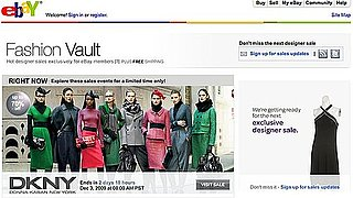 High-End Designer Online Sale Site, eBay Fashion Vault