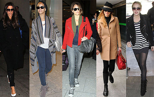 Celebrity Travel Style at Airports 2009-12-05 02:44:22